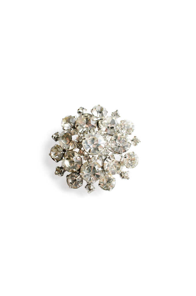 Small Rhinestone Statement Brooch