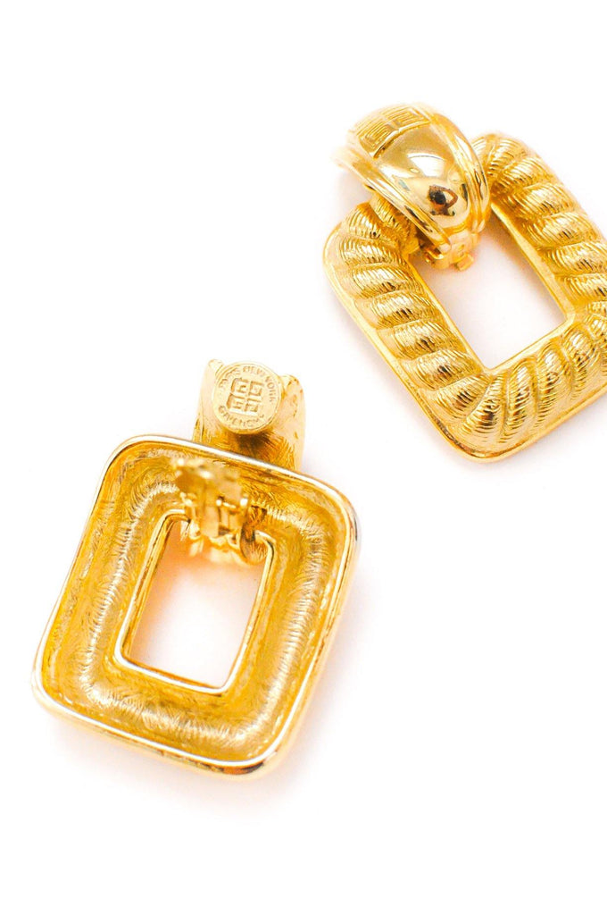 Givenchy Door Knocker Clip-on Earrings