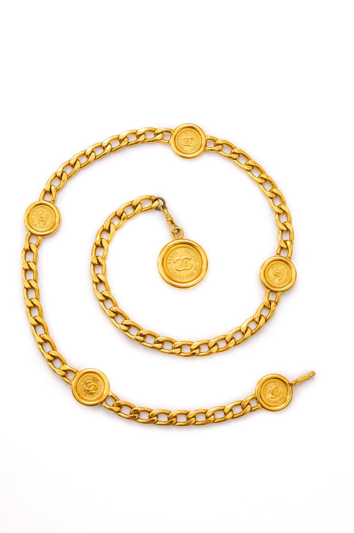 Chanel Coin Chain Belt