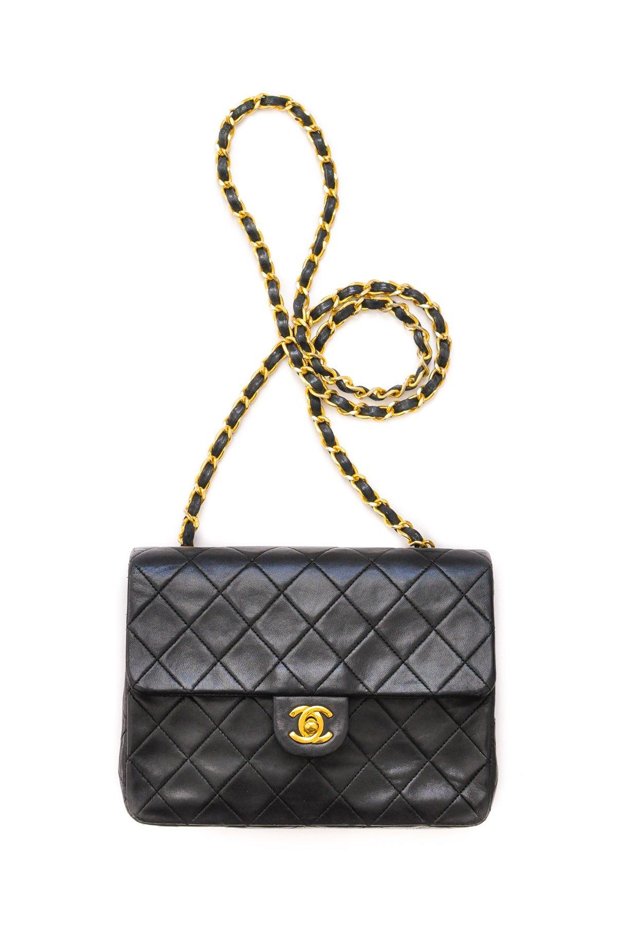 Chanel Small Black Flap Bag