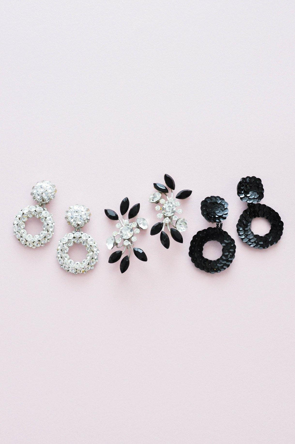 Statement Spray Crawler Clip-on Earrings