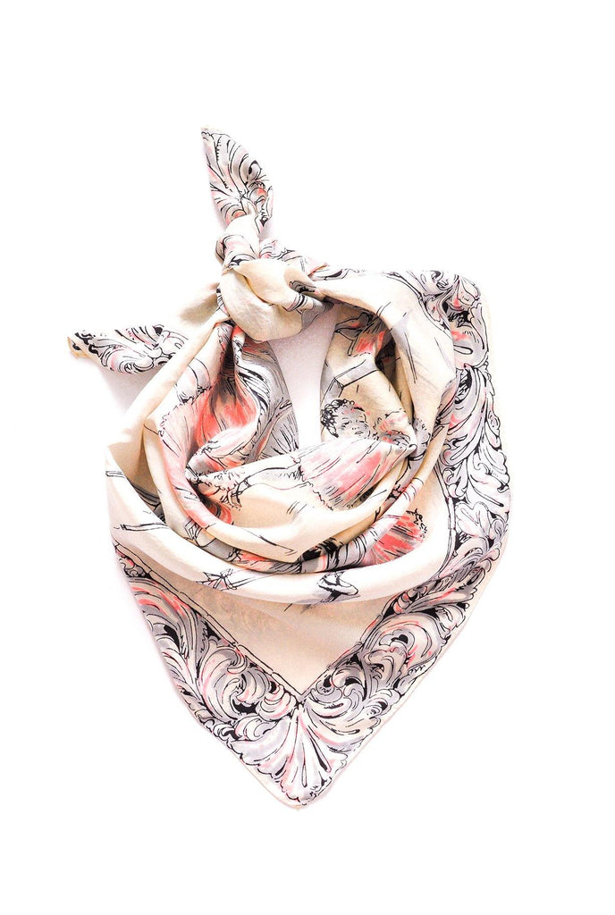 Ballerina Large Square Scarf