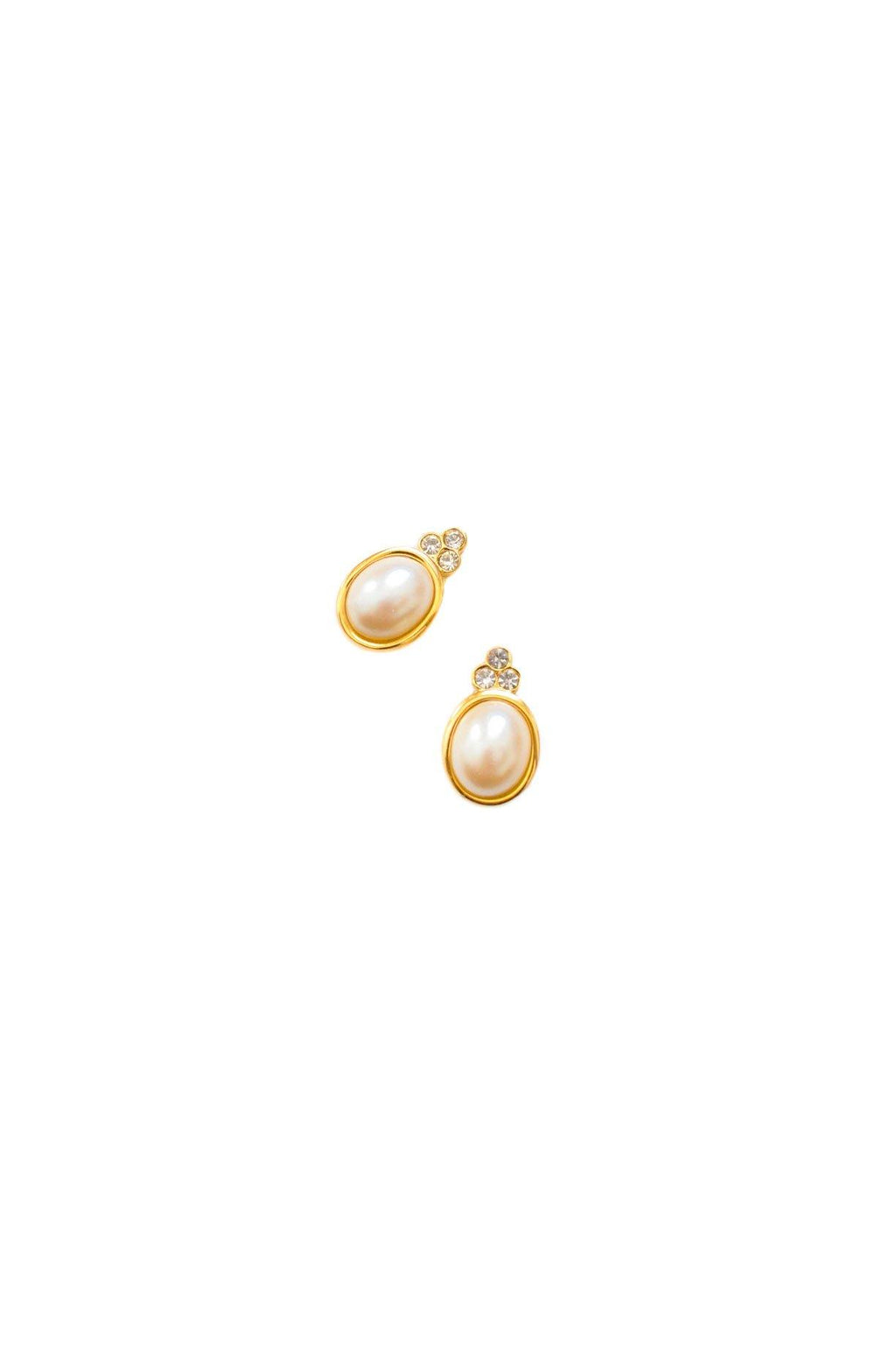 Givenchy Mini Pearl Pierced Earrings