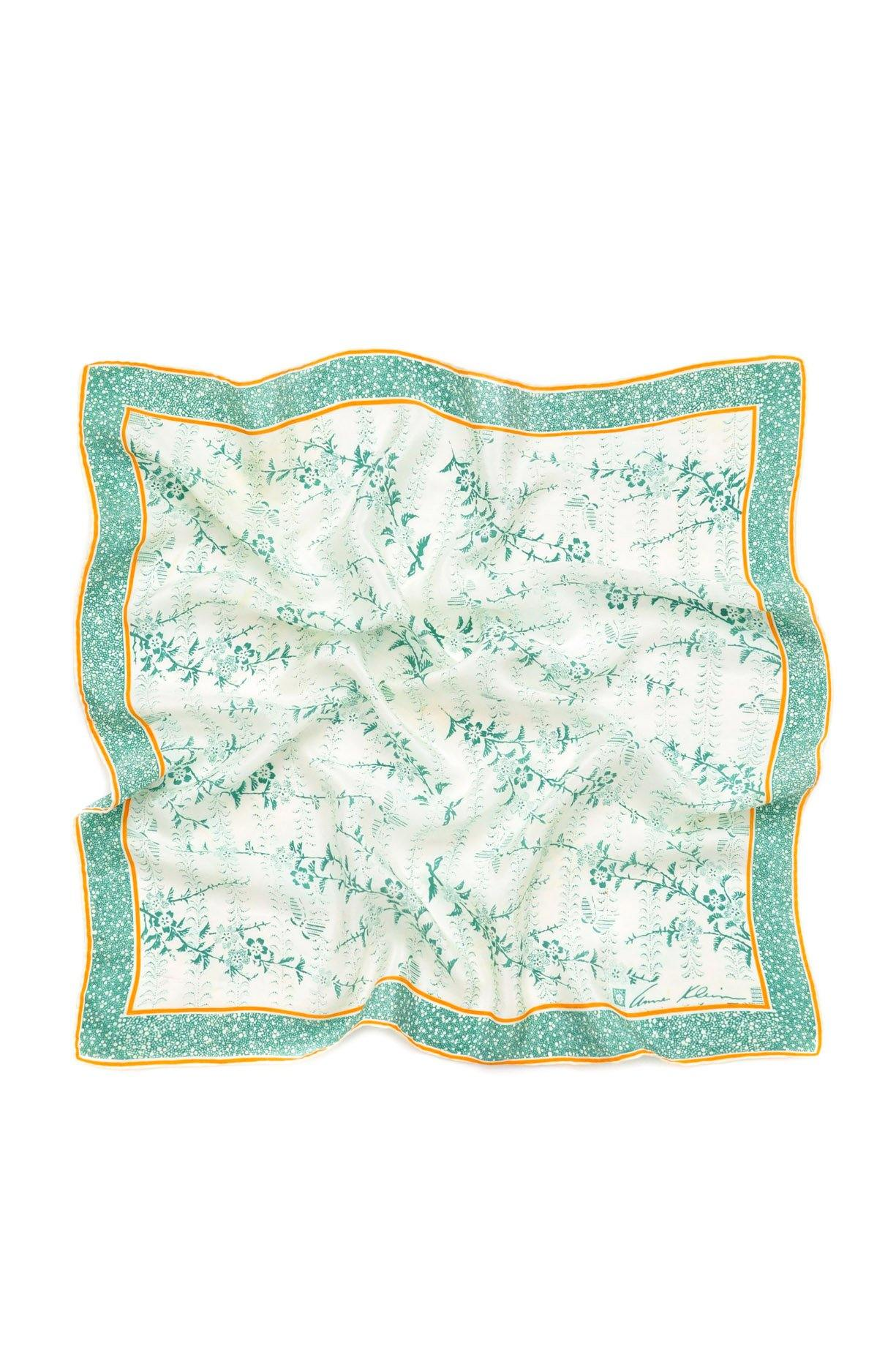 Floral Dot Square Scarf from Sweet & Spark