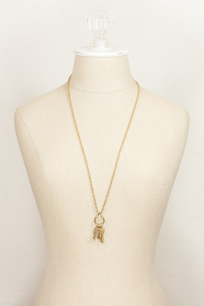 70's__Trifari__Lock & Key Necklace
