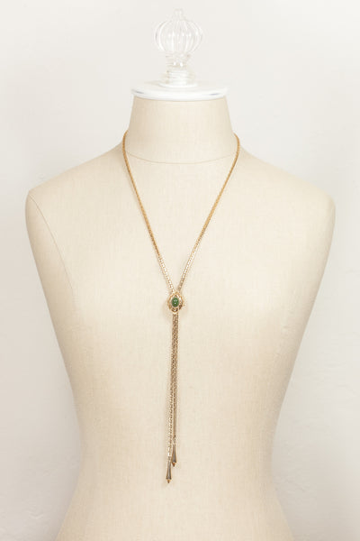 70's__Sarah Coventry__Adjustable Bolo Necklace
