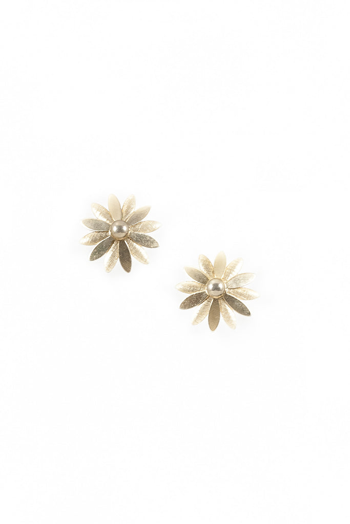 70's__Sarah Coventry__Mod Floral Clips