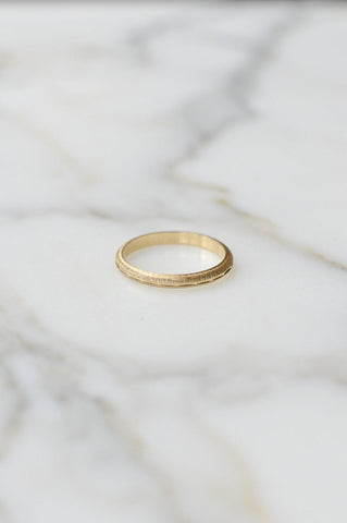 __Gold West Vintage__Gold Stacking Ring