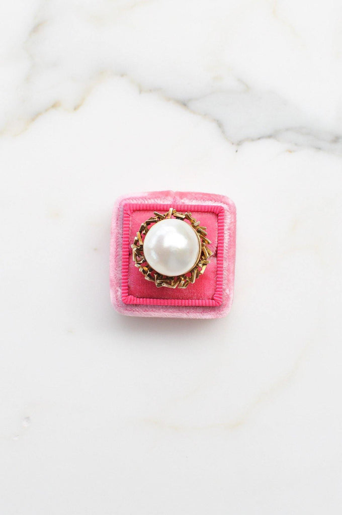 Mabe Pearl Cocktail Ring