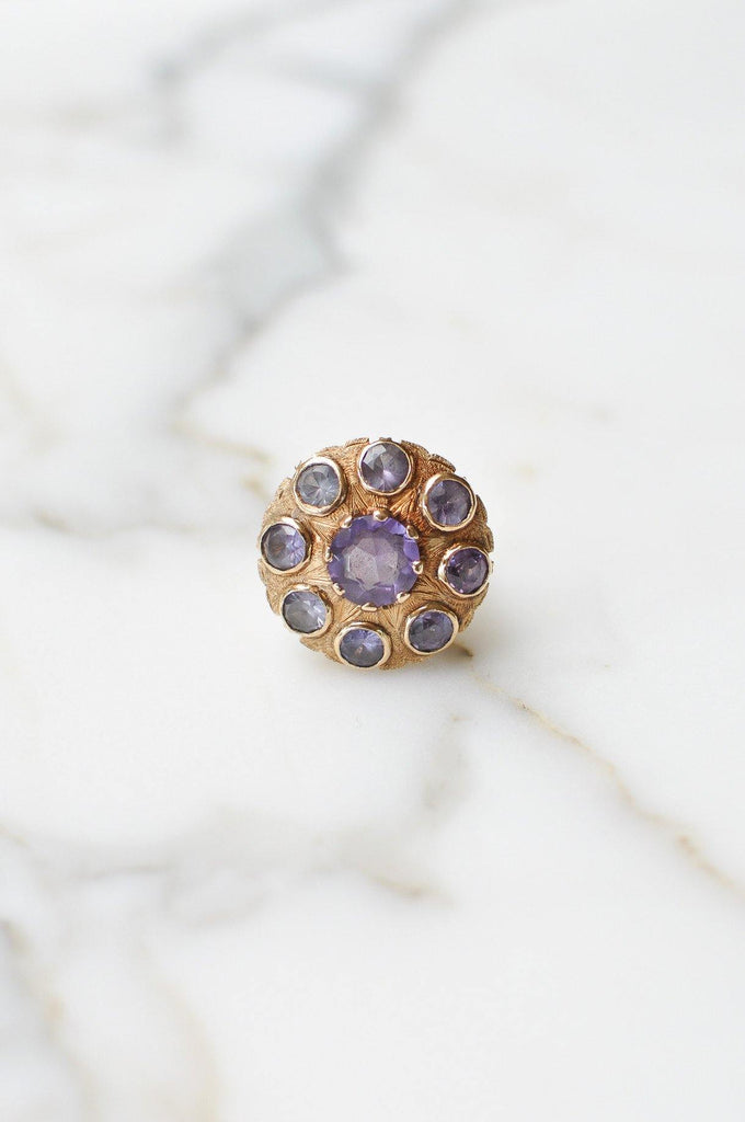Alexandrite Dome Ring