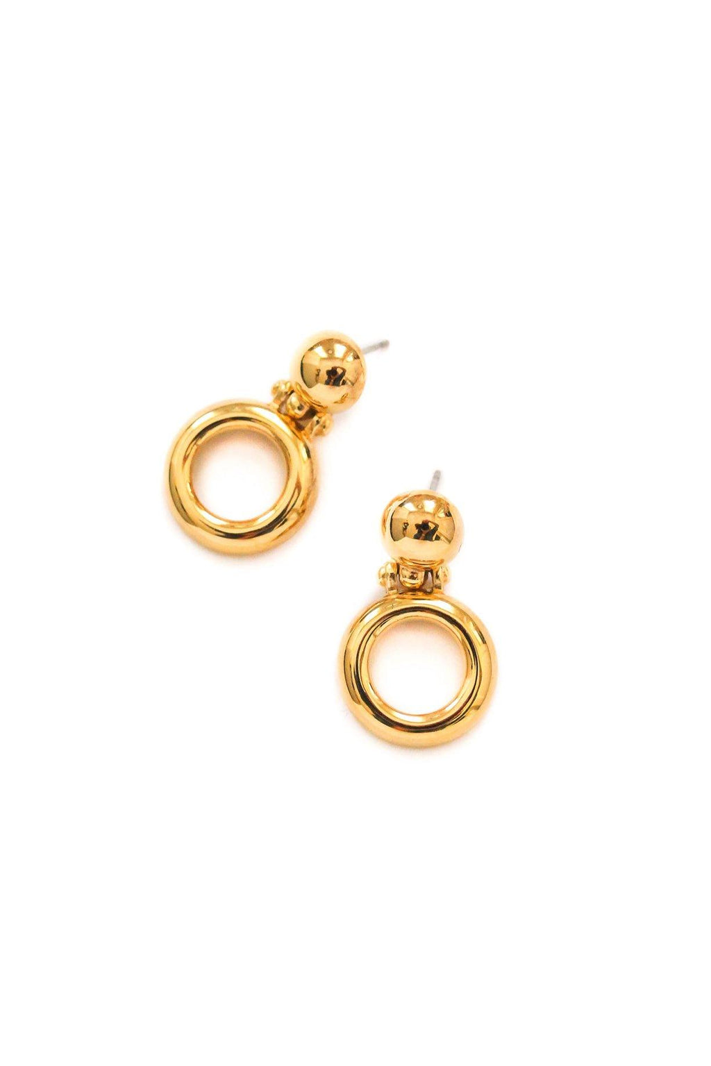 Givenchy Dainty Hoop Pierced Earrings