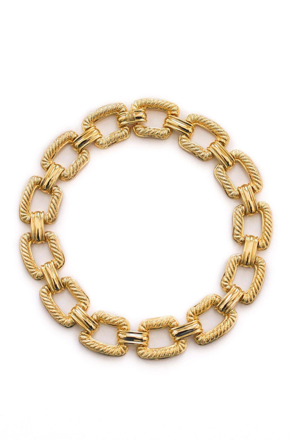 Givenchy Statement Link Necklace