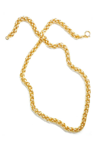 80's__Napier__Chunky Rope Chain Necklace