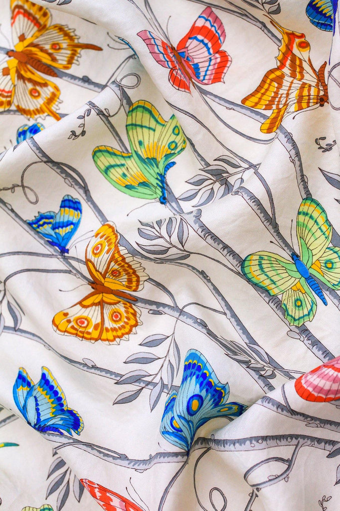 Gucci Butterfly Scarf