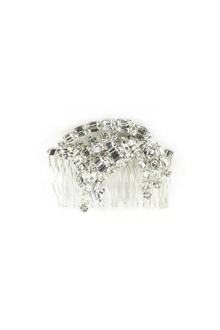 50's__Vintage__Statement Rhinestone Hair Comb