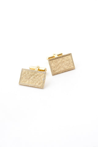 70's__Vintage__Rectangle Cuff Links
