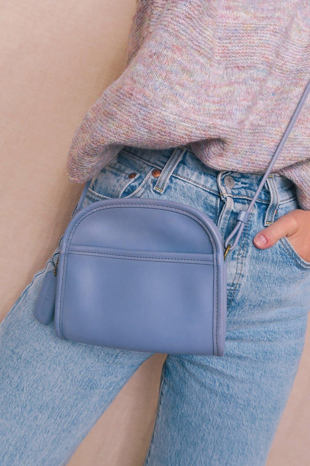 Vintage Coach Periwinkle Abbie Bag from Sweet and Spark