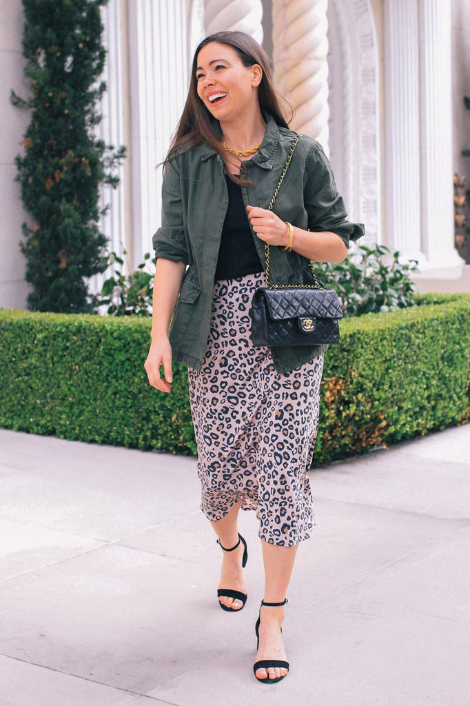 Sanctuary Everyday Leopard Midi Skirt