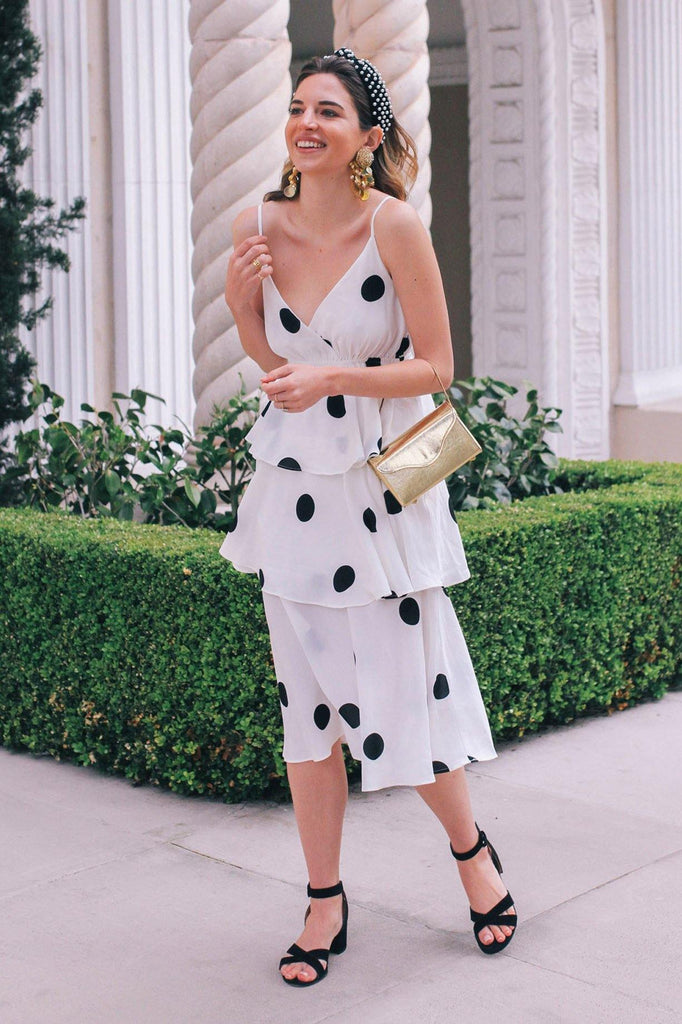 OPT Polka Dot Dress