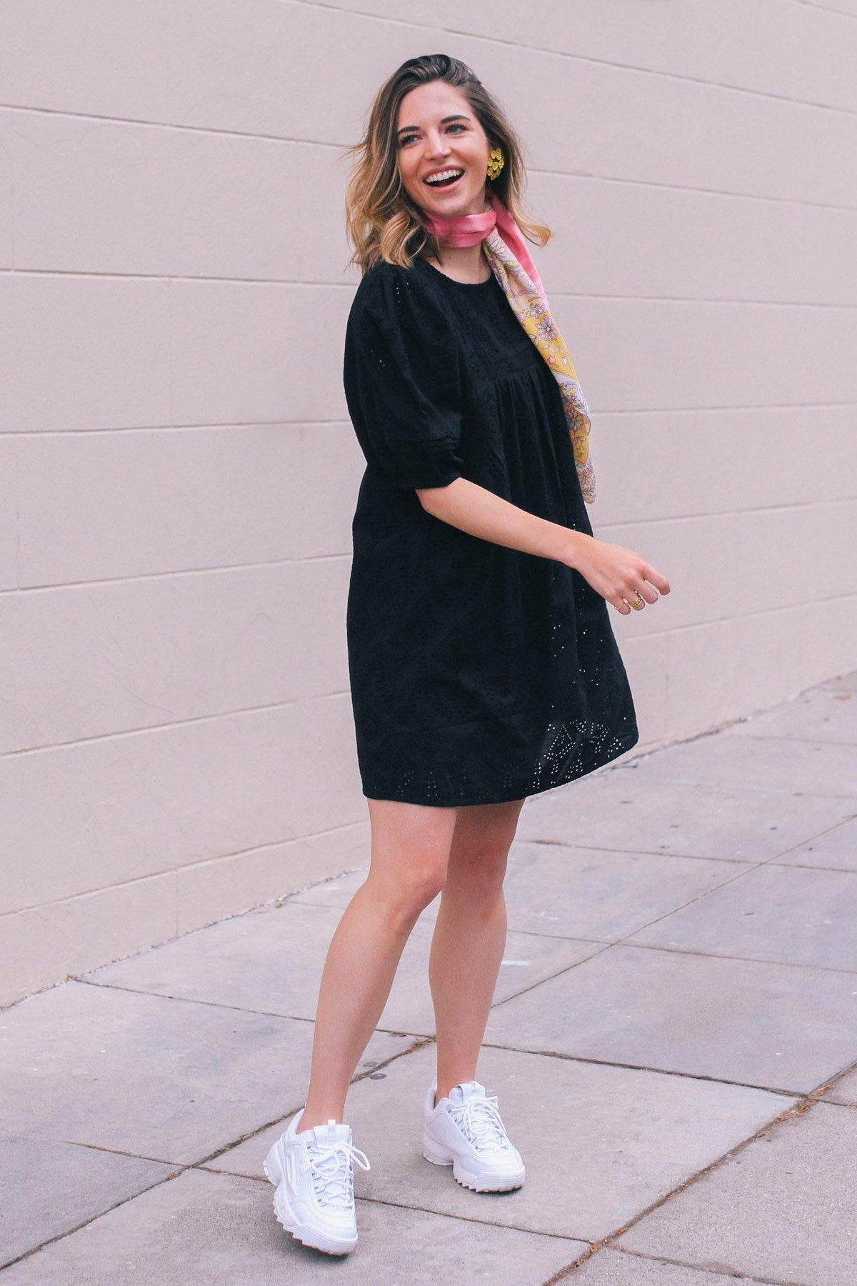 Sanctuary Love Story Black Swing Dress from Sweet & Spark