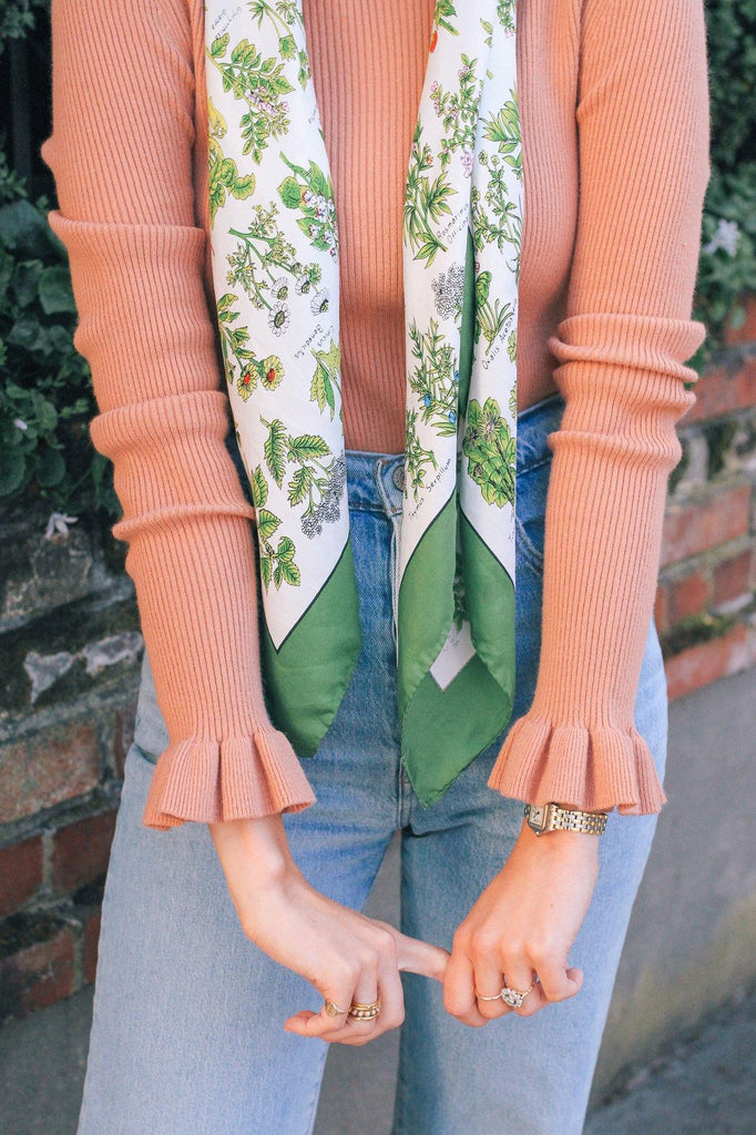 Endless Rose Flare Cuff Knit Top