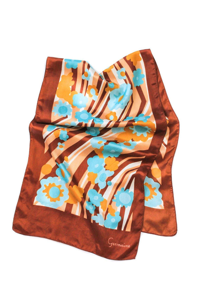 Geo Floral Rectangle Scarf