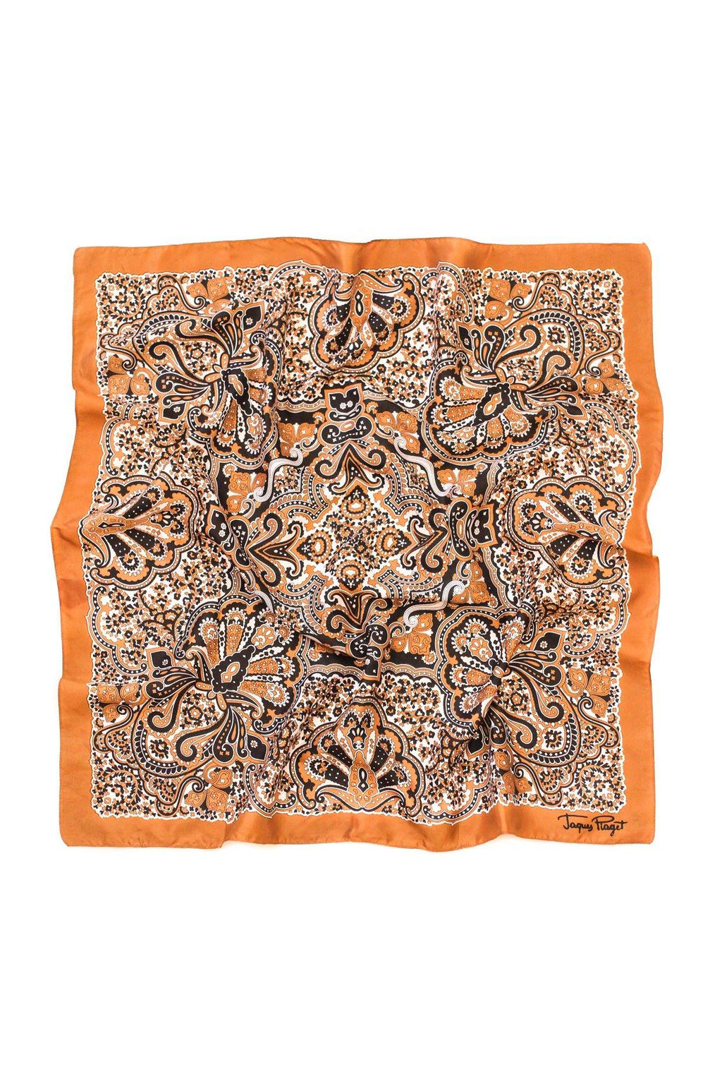 Neutrals Paisley Square Scarf