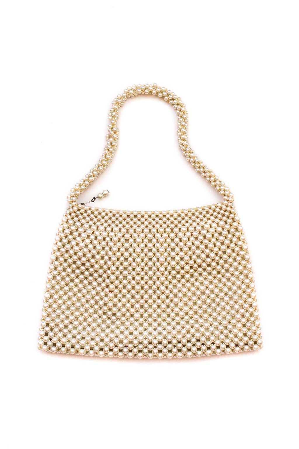 Pearl Top Handle Bag