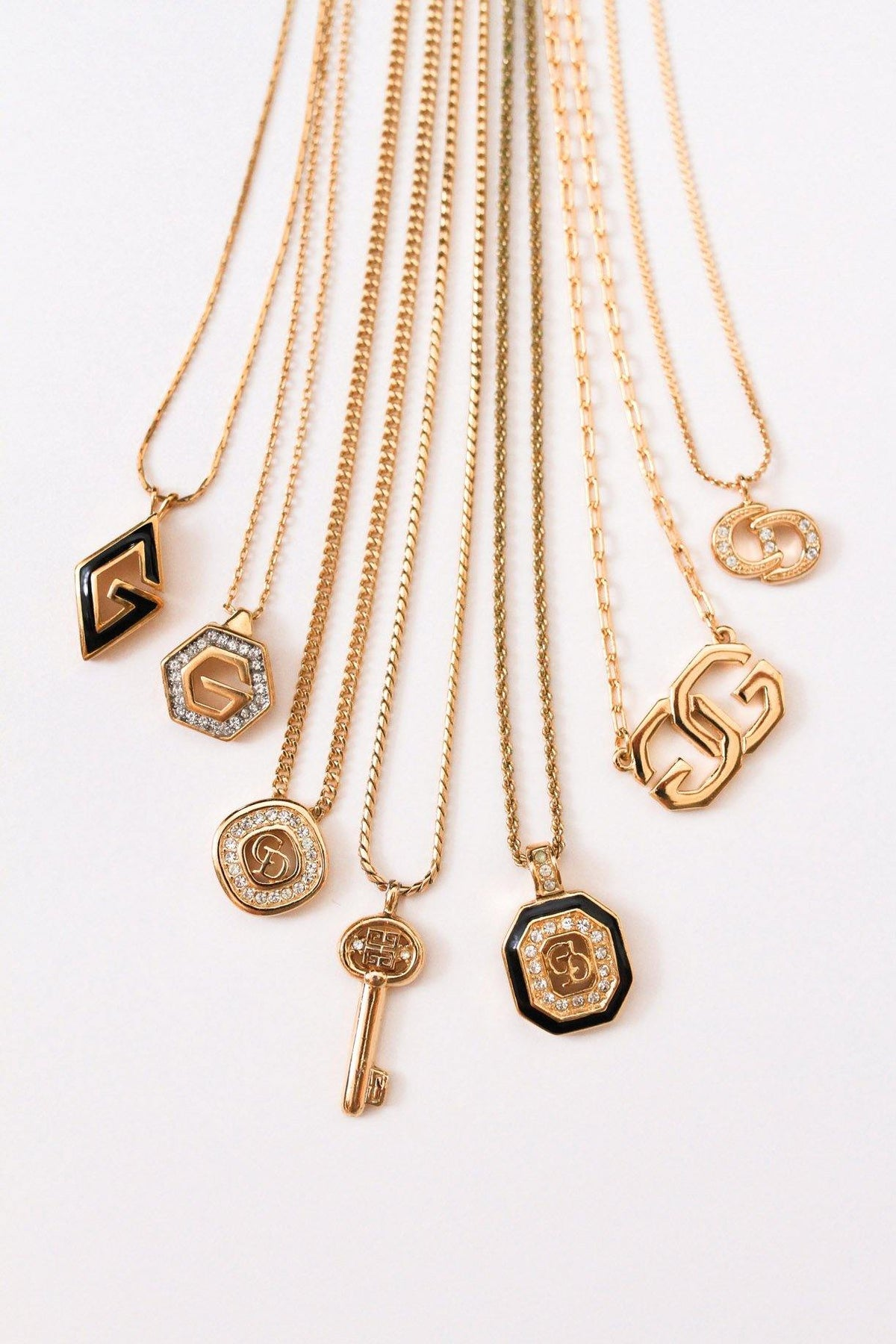 Vintage Pendant Necklaces from Sweet & Spark.