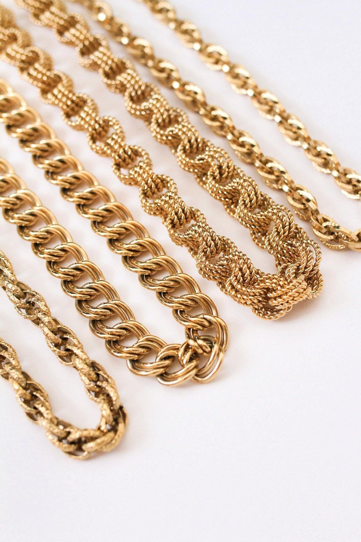 Givenchy Chunky Triple Link Necklace