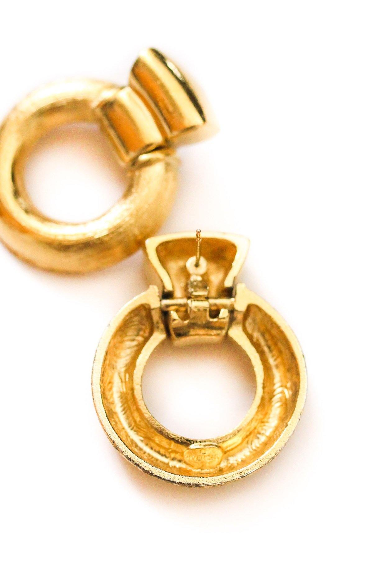 Givenchy Door Knocker Pierced Earrings