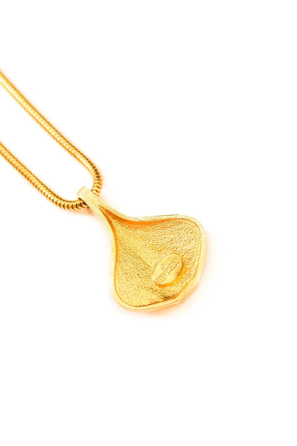 Givenchy Teardrop Pendant Necklace