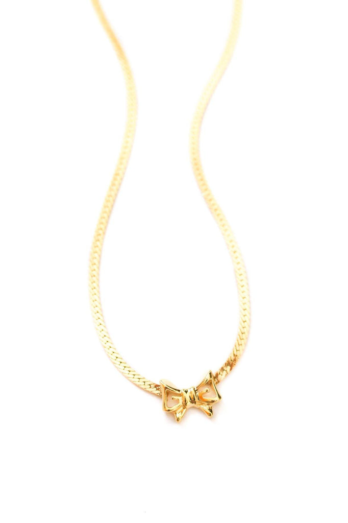 Givenchy Bow Pendant Necklace
