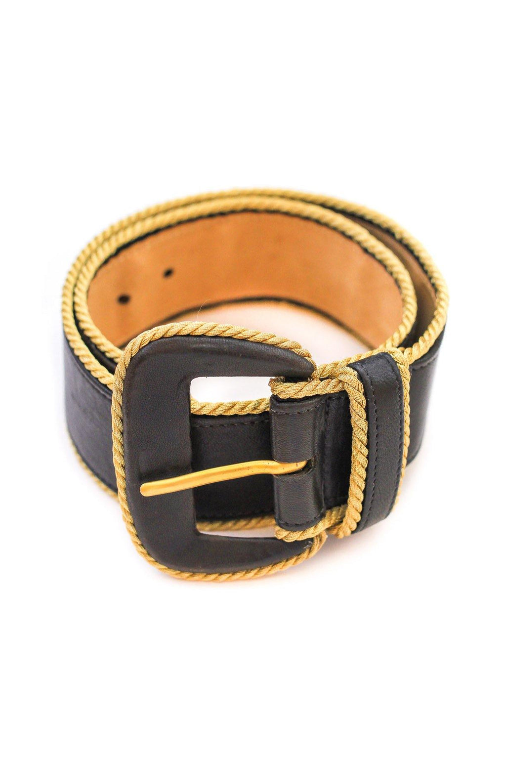 Donna Karan Wide Statement Belt