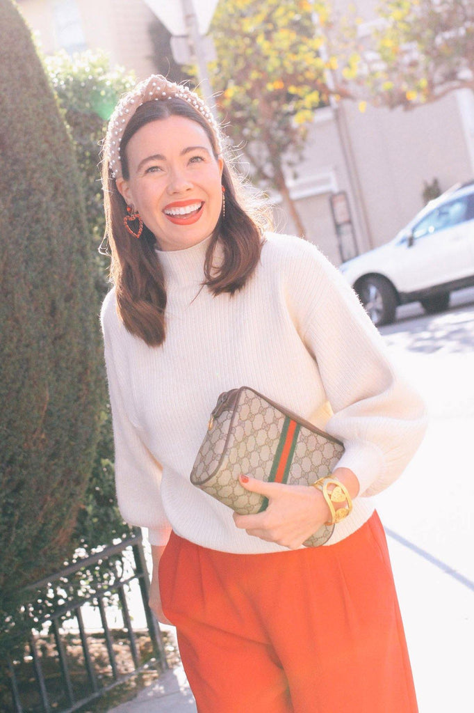 Line & Dot Cream Alder Sweater