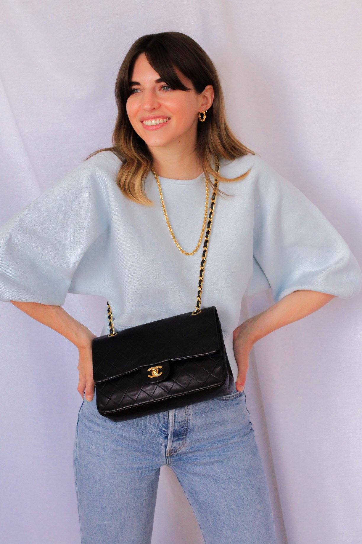Line & Dot Sky Blue Al Fresco Sweater