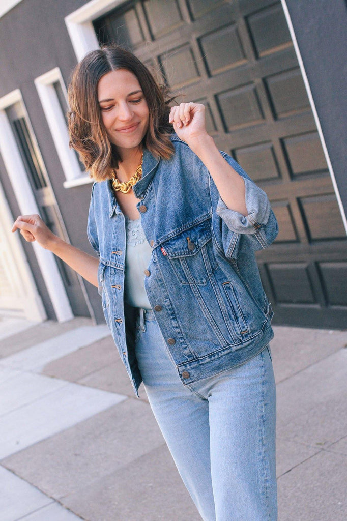 Levi's Slouchy Denim Trucker Jacket