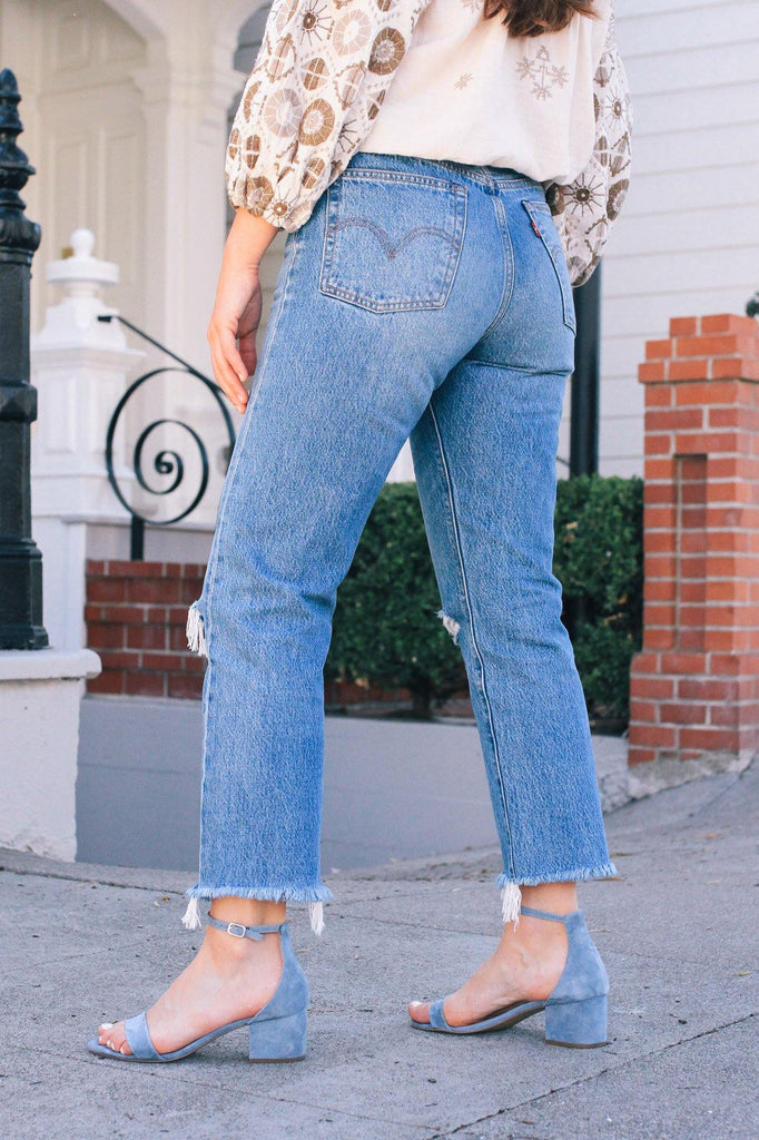Levi's Uncovered Truths Wedgie Jeans