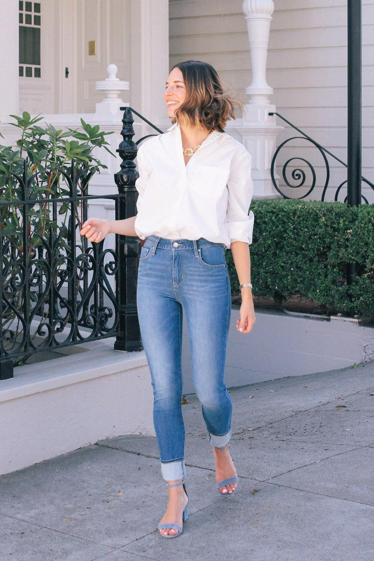 Levi's 721 High Rise Skinny Jeans from Sweet & Spark