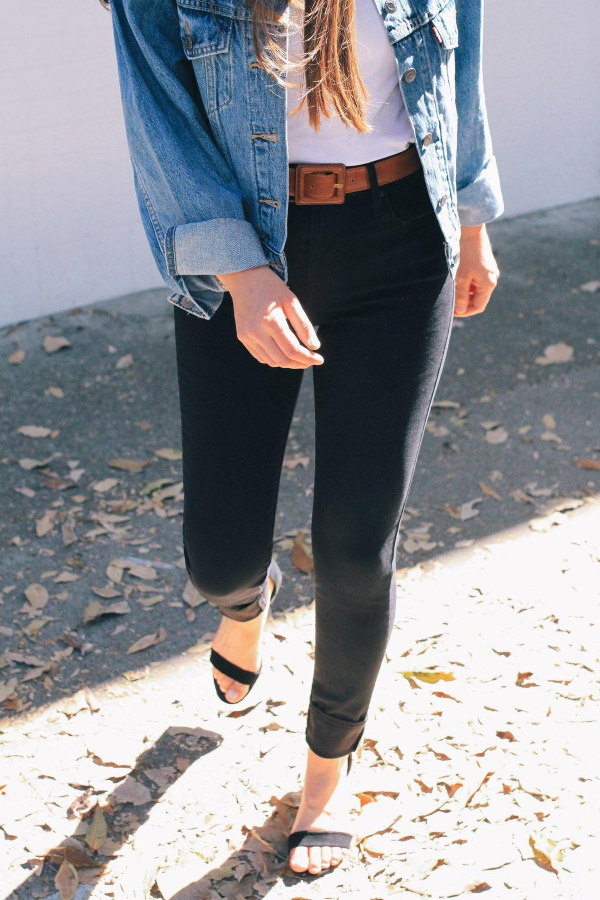 Levi's Black 721 High Rise Skinny Jeans from Sweet & Spark