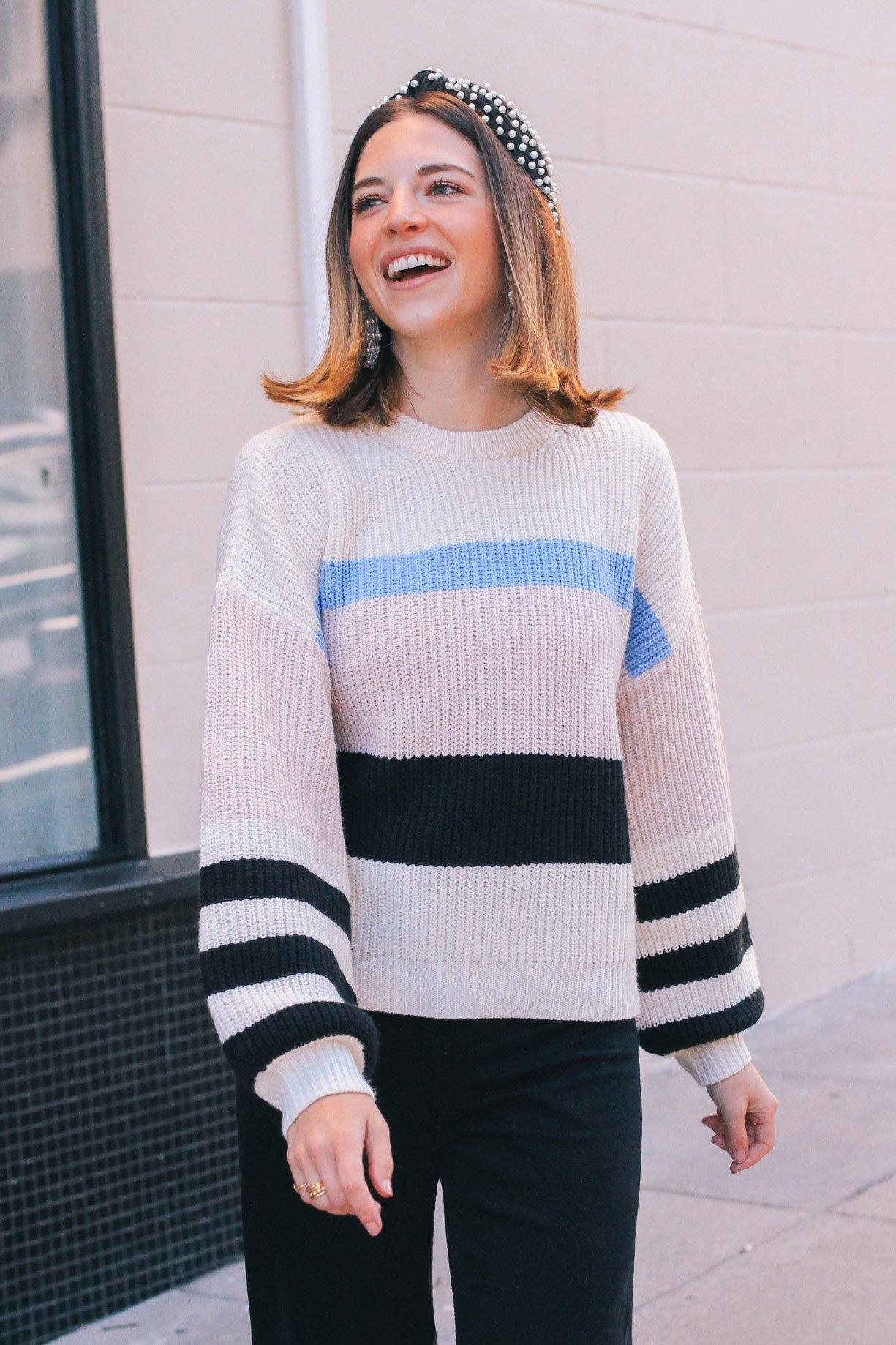 Sanctuary Playful Stripe Sweater