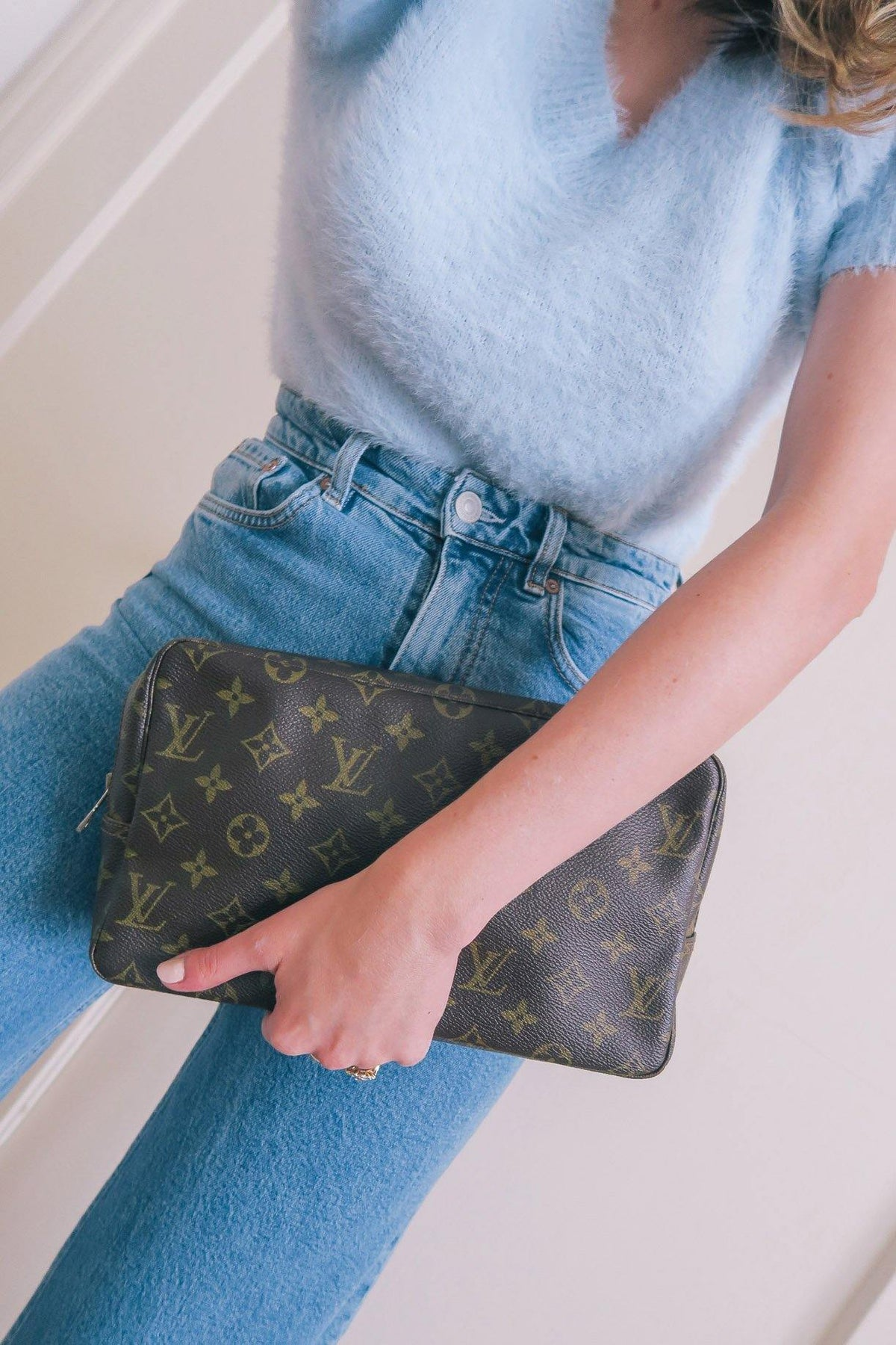 Vintage Louis Vuitton Clutch Bag from Sweet & Spark.