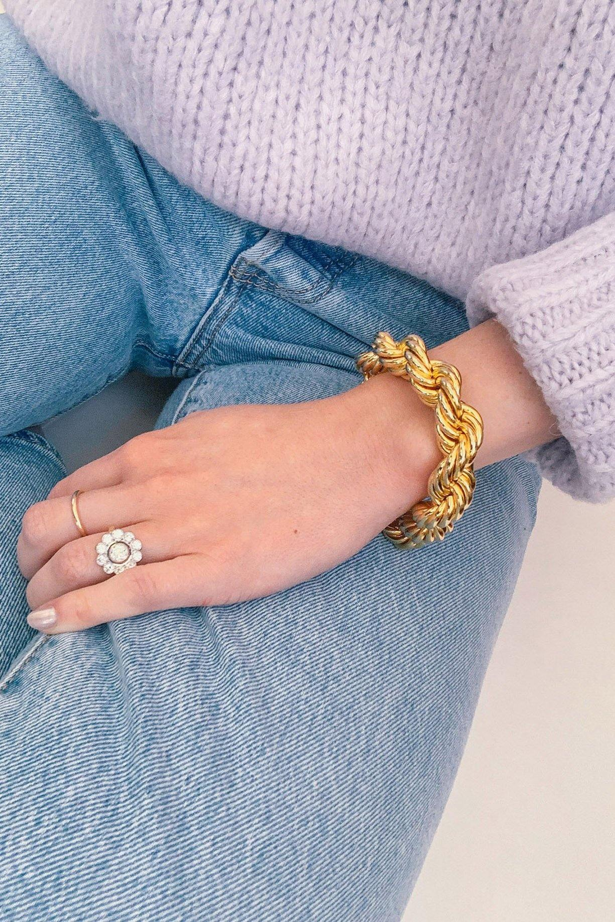 Statement Rope Bracelet