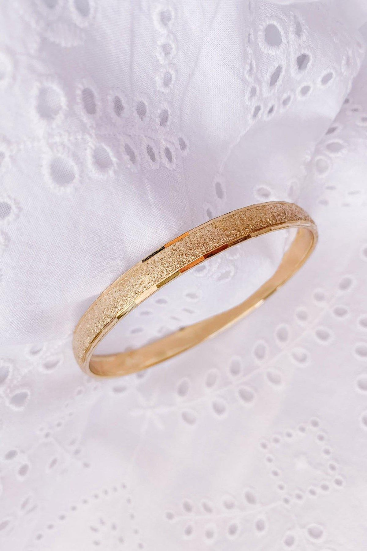 Vintage Etched Bangle from Sweet & Spark