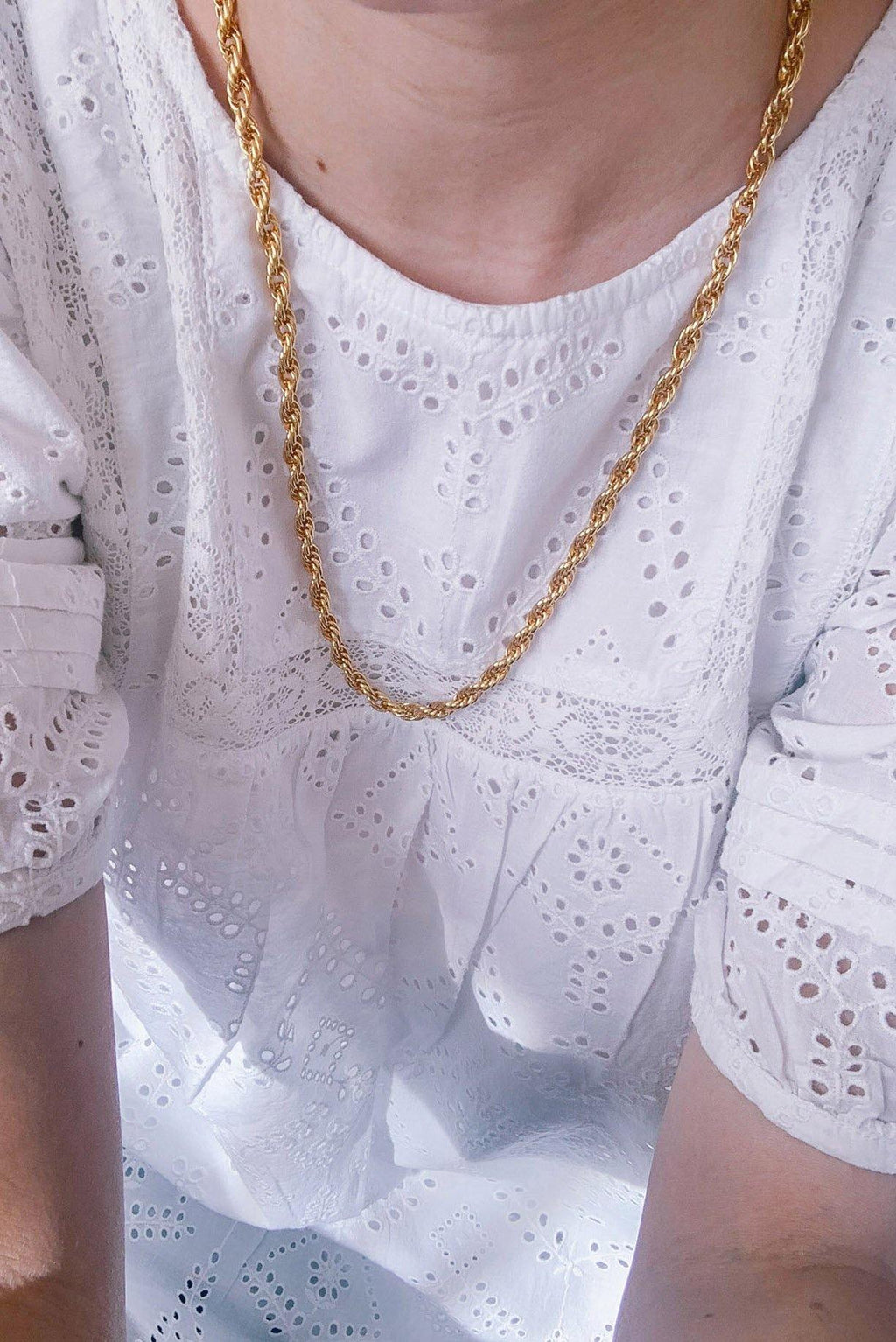 Classic Rope Chain Necklace