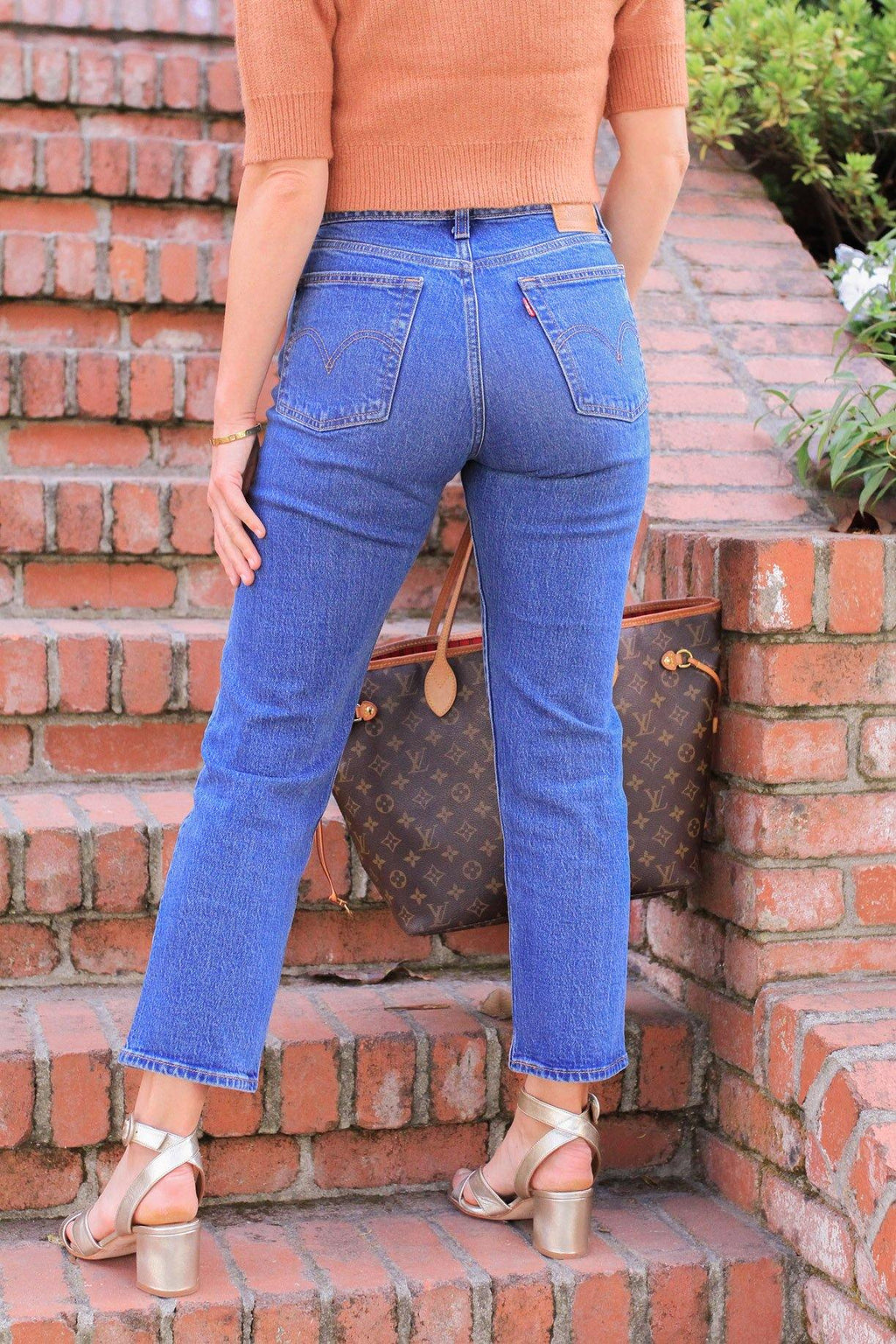 Levi's Wedgie Jive Sound Jeans
