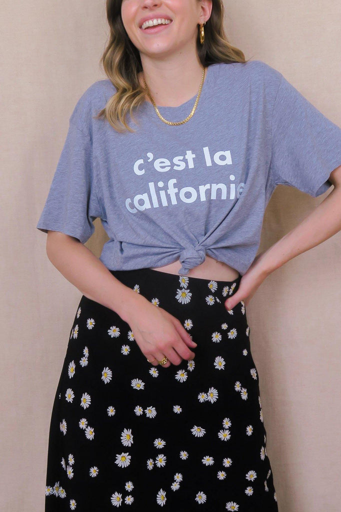 C'est La Californie Grey T-Shirt