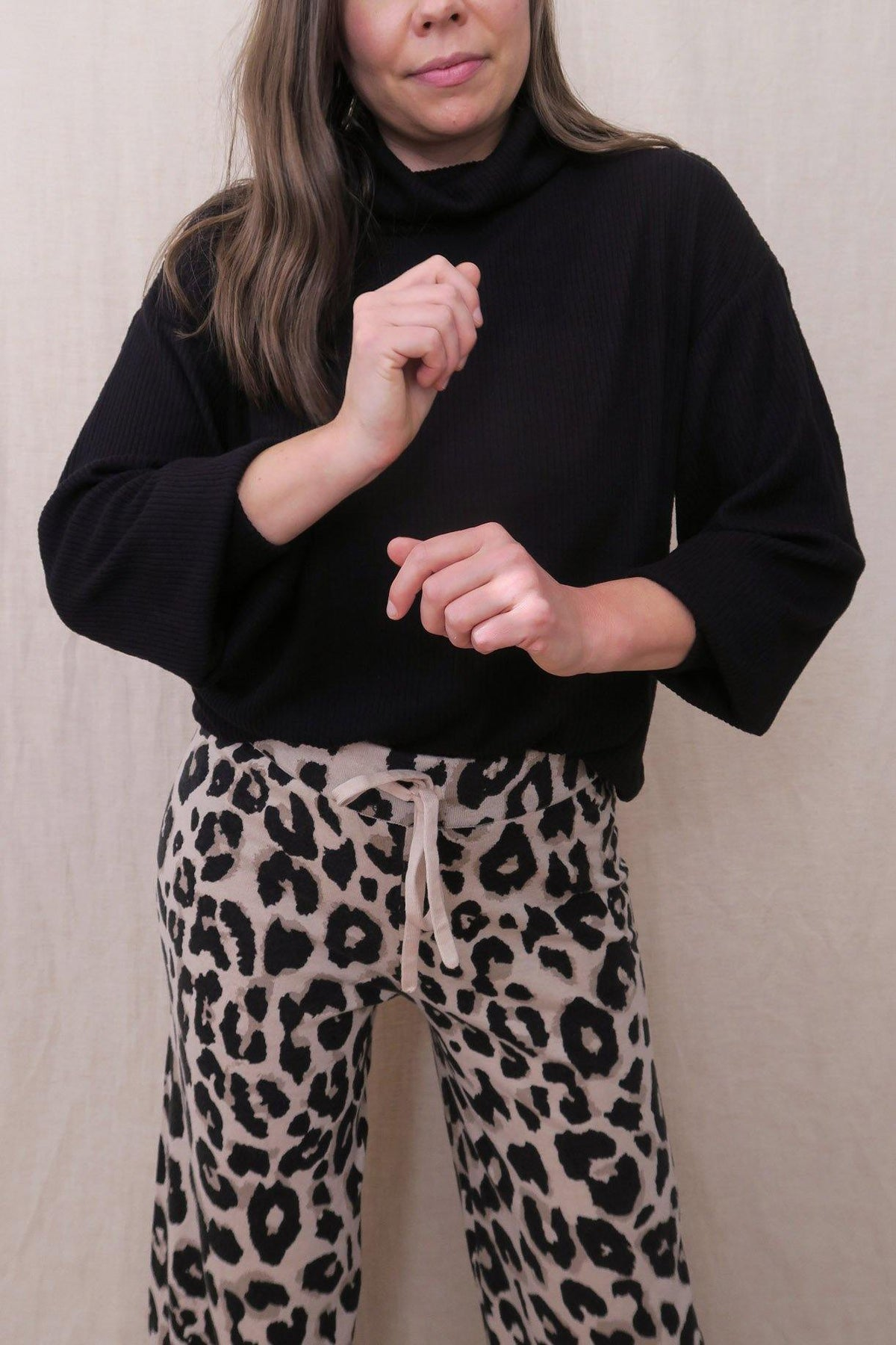Sanctuary Leopard Pants from Sweet and Spark