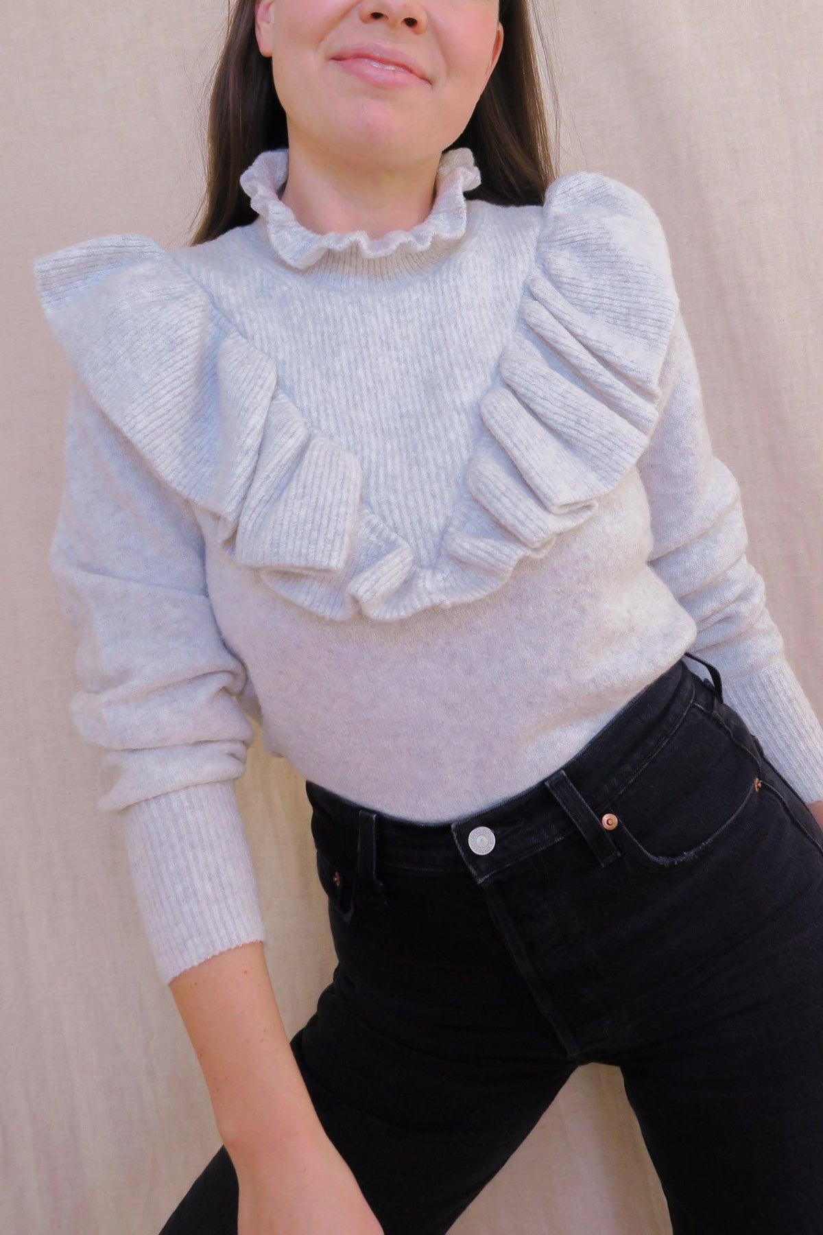 French Connection Mira Flossy Sweater - Sweet & Spark