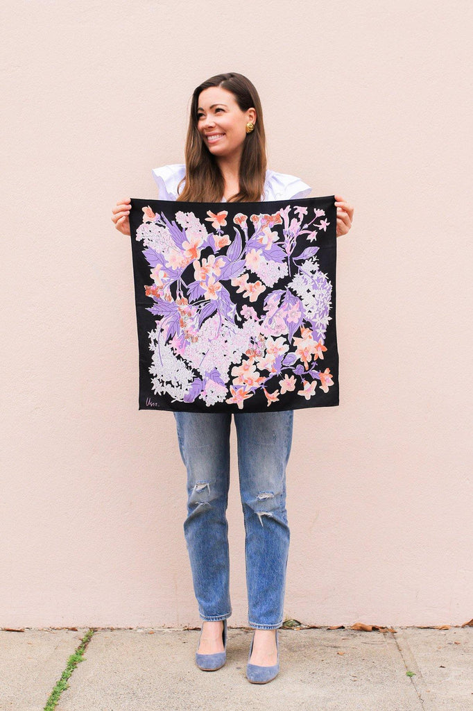 Japanese Florals Scarf